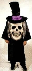 Skull Mad Hatter Child