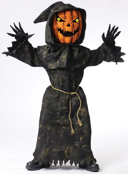 Bobble Head Pumpkin Child Costume