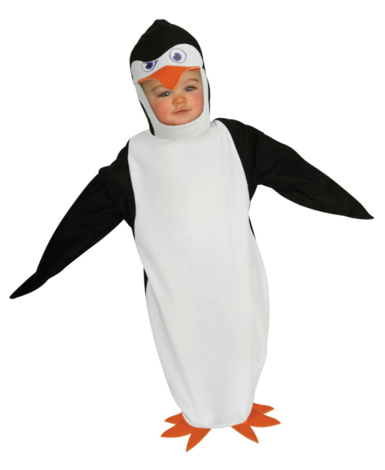 The Penguins of Madagascar-Skipper Infant Bunting Costume