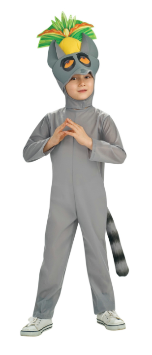 The Penguins of Madagascar Deluxe King Julien Child Costume