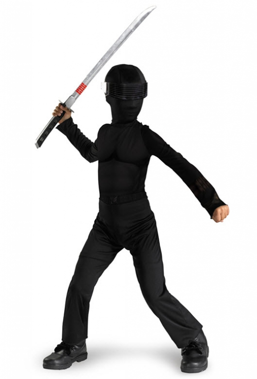 GI Joe Snake Eyes Costume