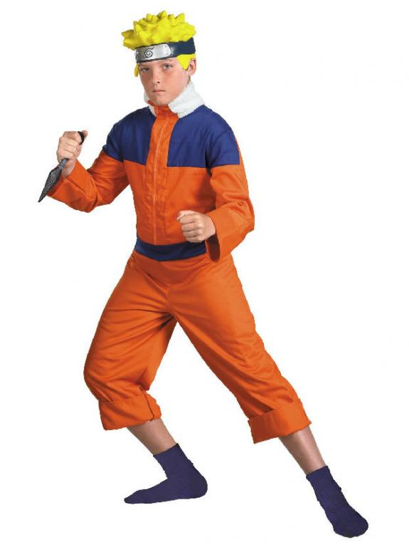 Naruto Deluxe Child Costume
