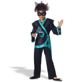Jewel Dragon Ninja Child Costume