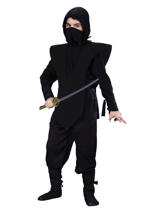 Как сделать костюм ниндзя своими руками фото