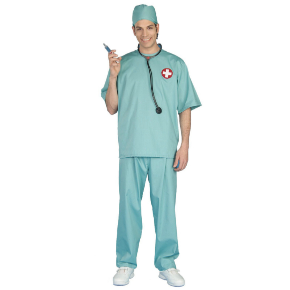 Surgeon Scrubs Adult Costume