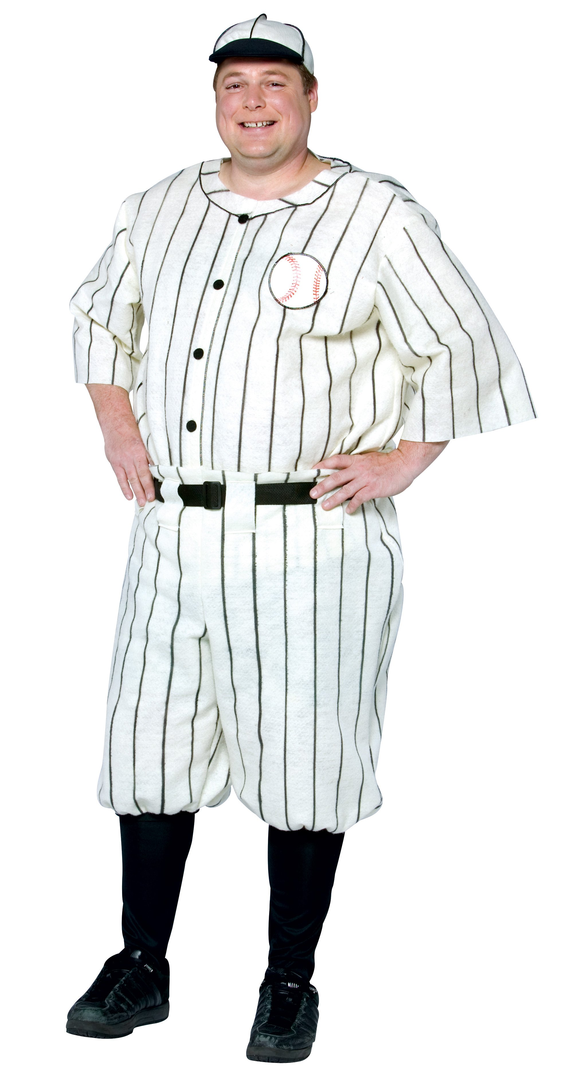Old Tyme Baseball Player Adult Plus Costume