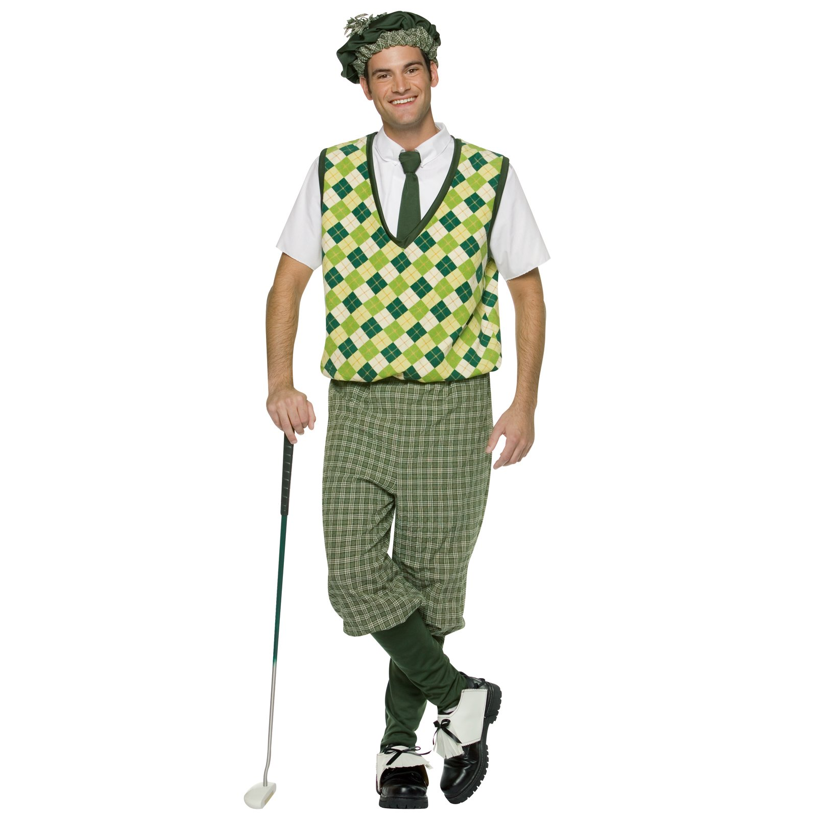 Old Tymer Golfer Adult Costume