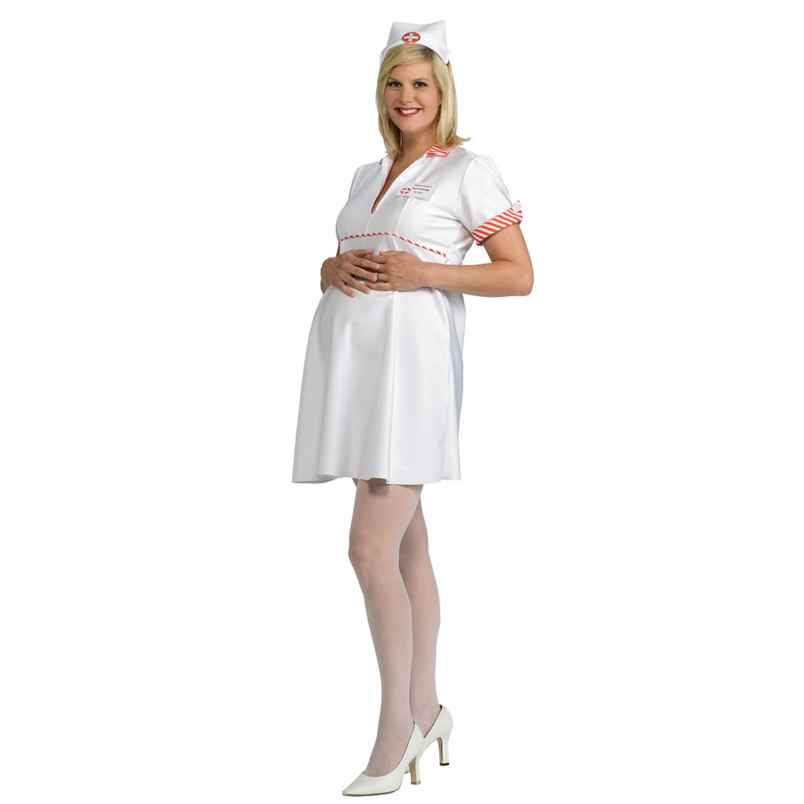 Mommy To Be Nurse Adult Costume