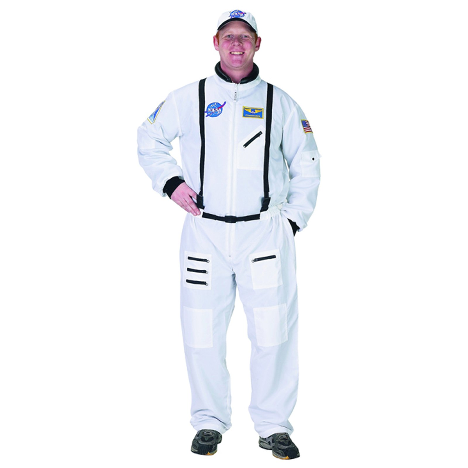 NASA Astronaut Suit White Adult Costume