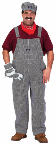 Train Engineer Adult Costume