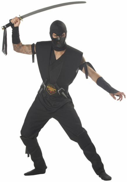 Stealth Assassin Adult Costume