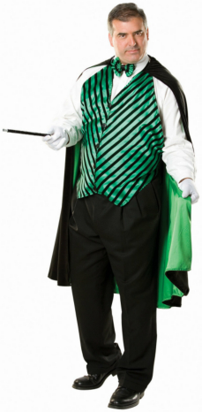 Mortimer the Magician Adult Plus Costume