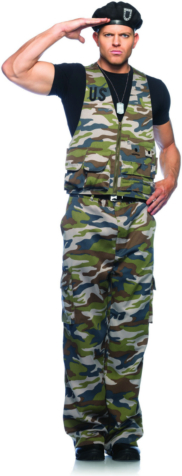 Special Ops Officer Adult Costume