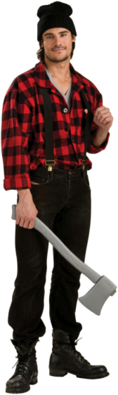 Lumber Jack Adult Costume