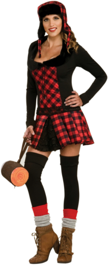 Lumber Jill Adult Costume