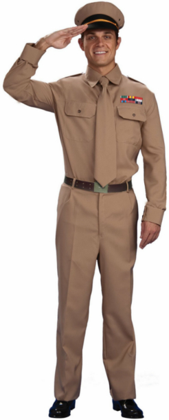 World War II General Adult Costume