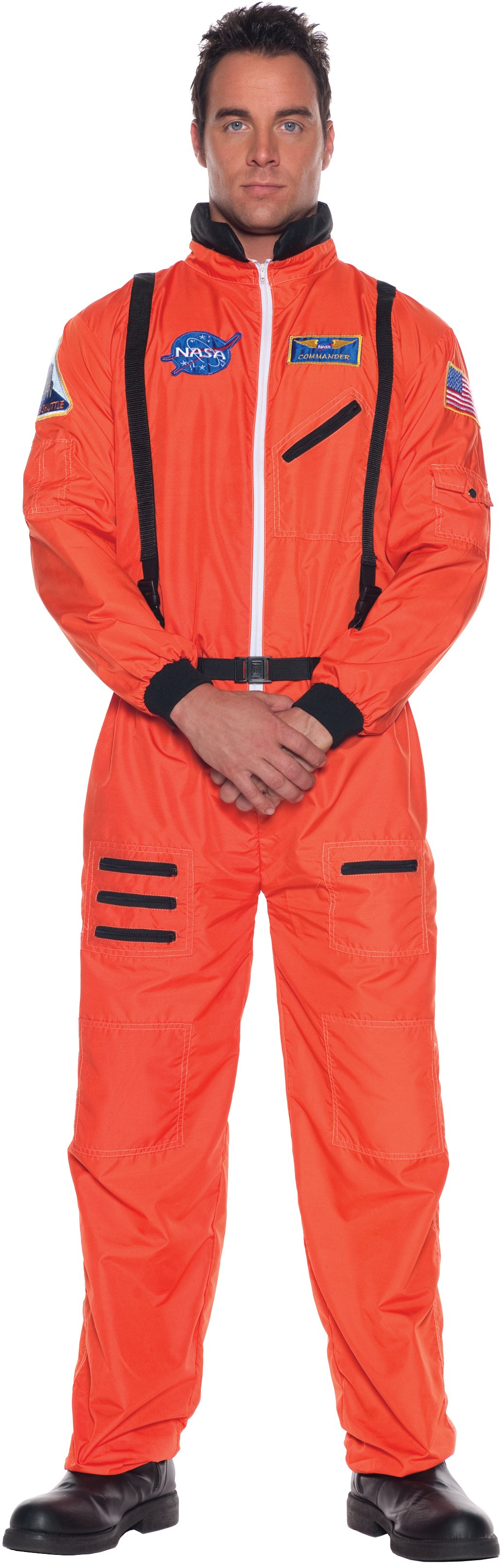 Astronaut (Orange) Plus Adult Costume