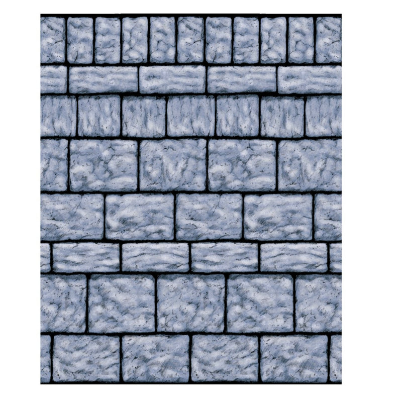 40' Stone Wall Setter Room Roll