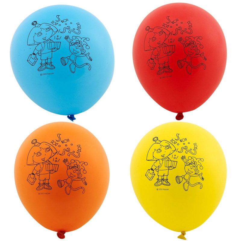 "Dora the Explorer 12"" Balloons (6 count)"