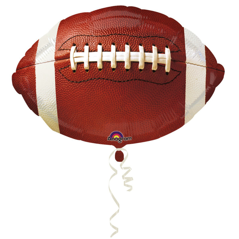 "18"" Football-Shaped Foil Balloon"