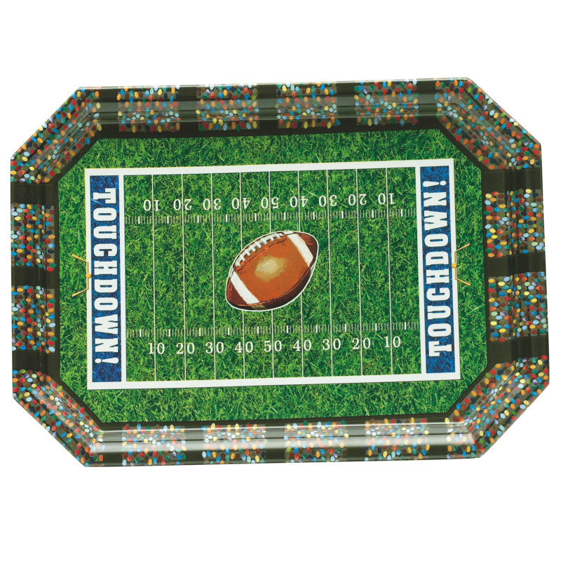 Football Rectangular Platter