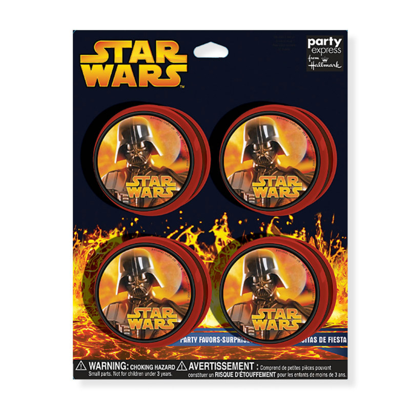 Star Wars Yo Yo's (4 count)