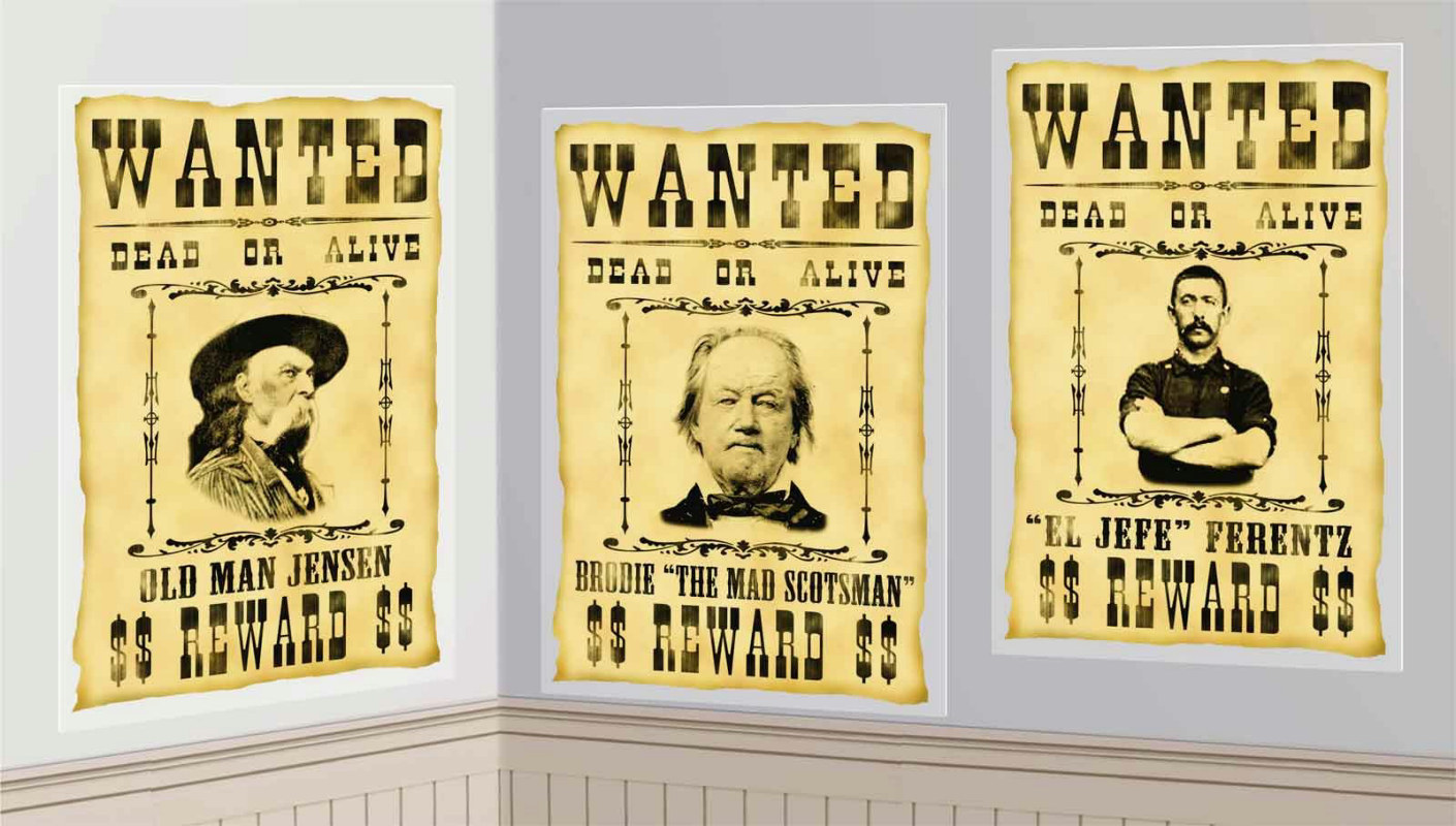 Wanted Posters Add-Ons