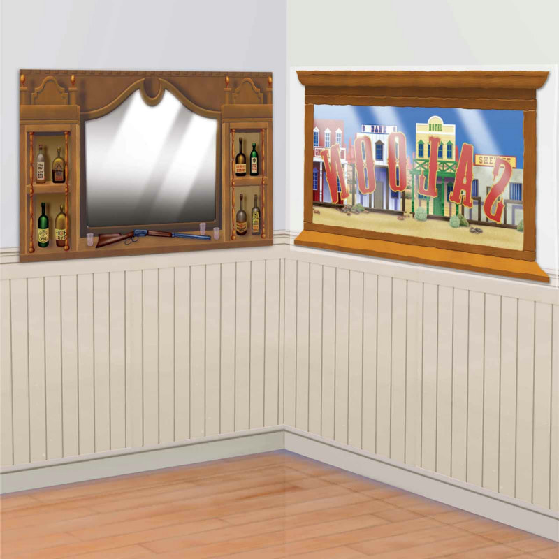 5' Western Saloon Mirror & Window Add-Ons