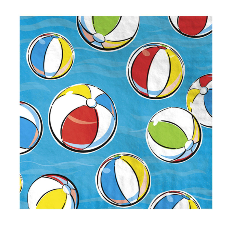 Summertime Fun Lunch Napkins (16 count)