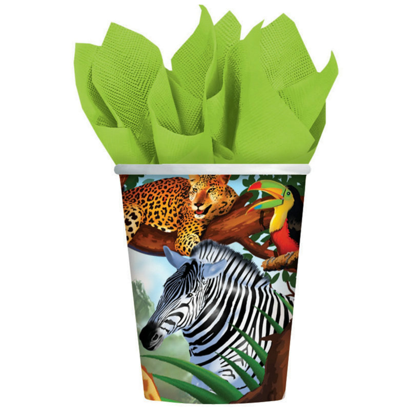 Safari 9 oz. Paper Cups (8 count)
