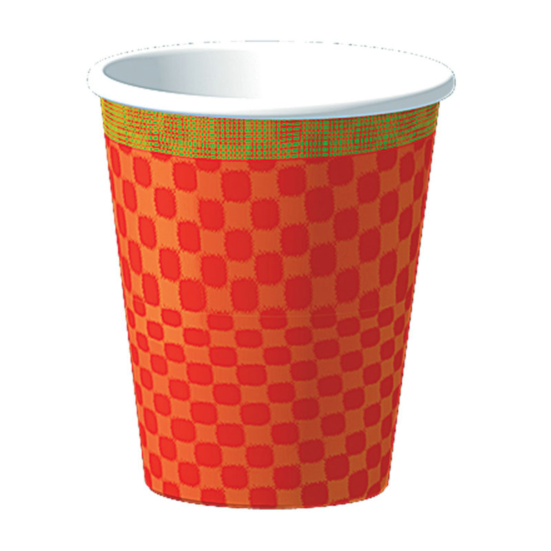 Pizza Party 9 oz. Paper Cups (8 count)