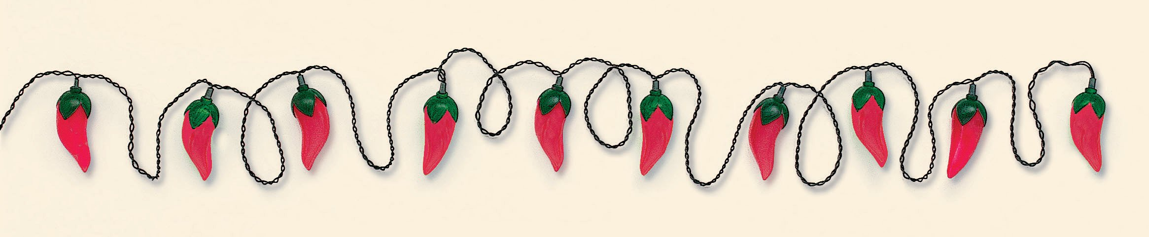 14' Chili Pepper Electric Light Set (10 lights)