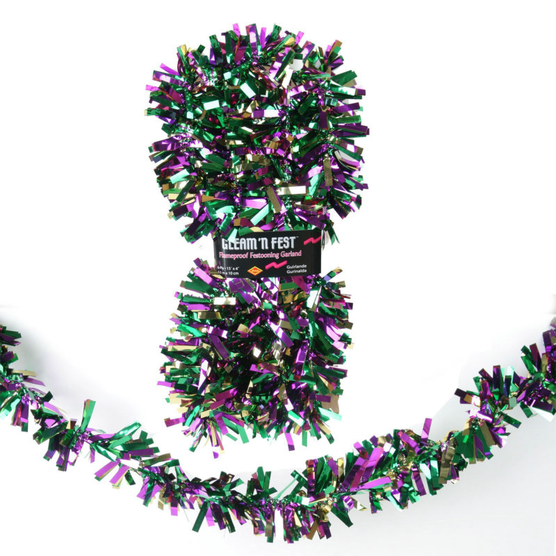 15' Gleam 'N Fest Foil Garland