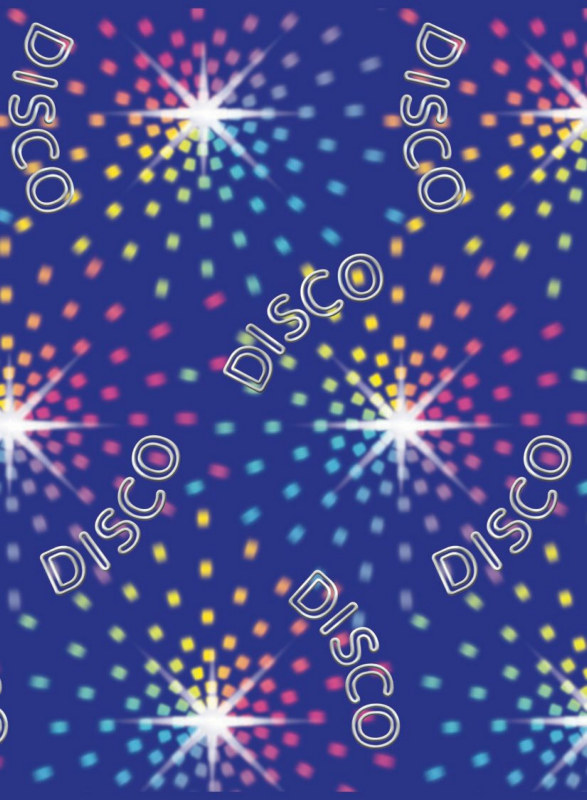 40' Disco Sparkle Lights Room Roll