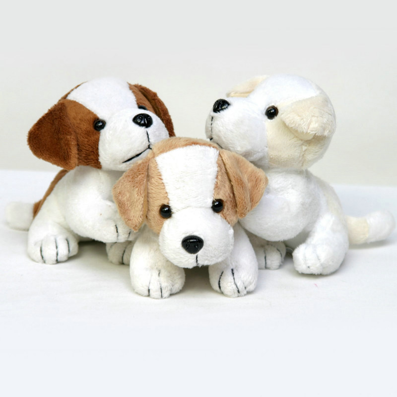 "6"" Dog Plush - Assorted (1 Count)"