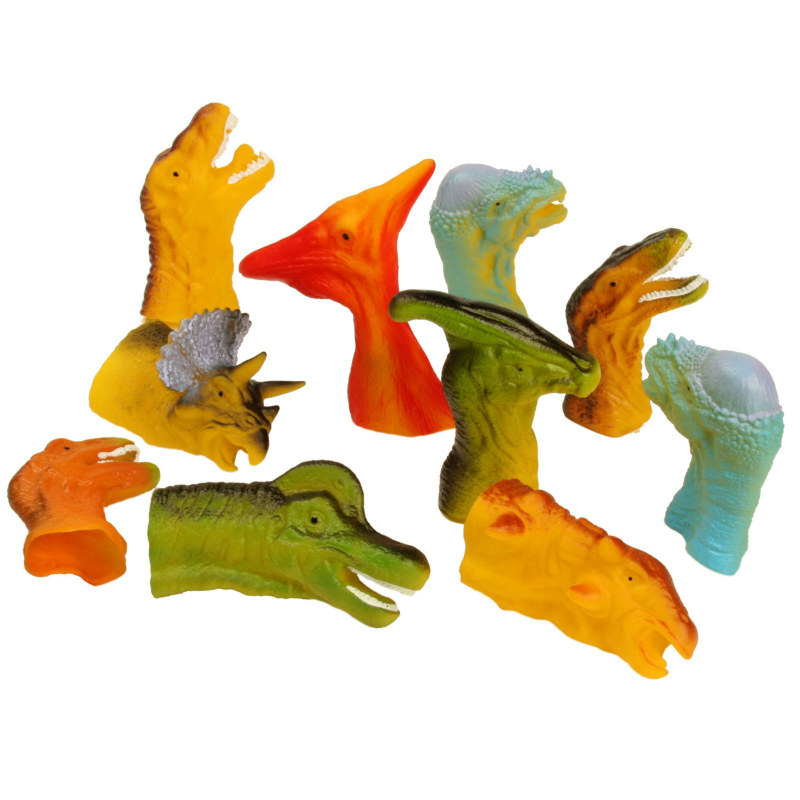 Dinosaur Finger Puppets (12 count)