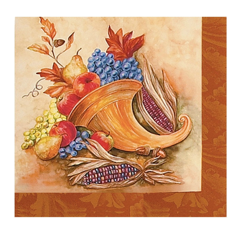 Give Thanks Beverage Napkins (16 count)