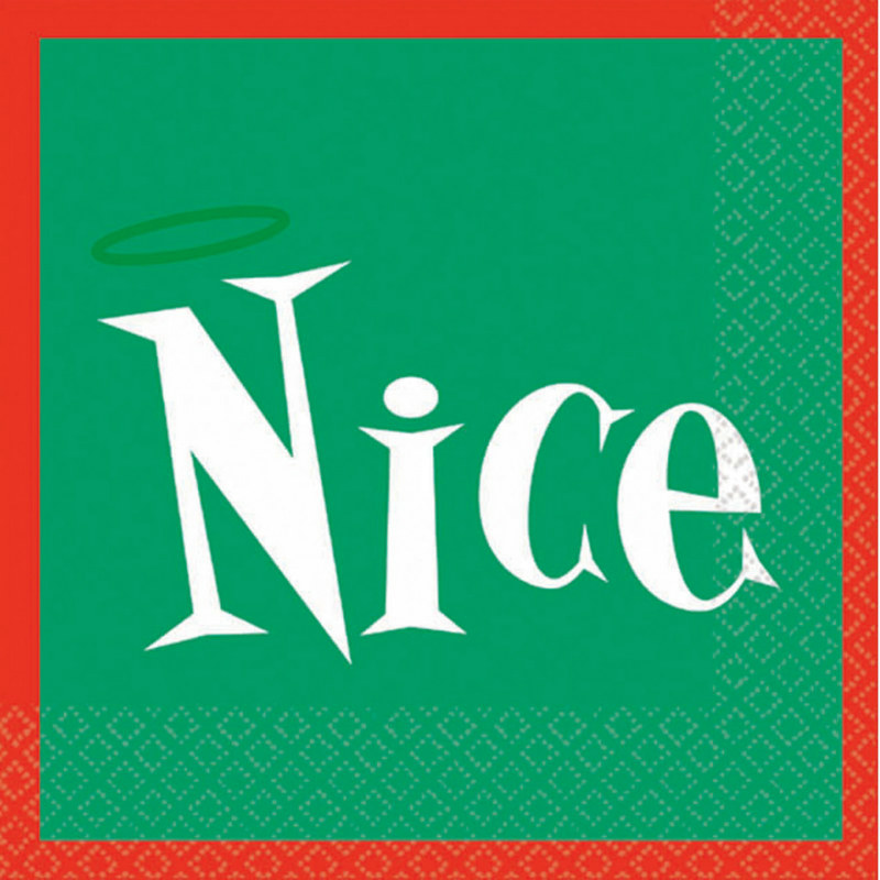 Nice Beverage Napkins (16 count)