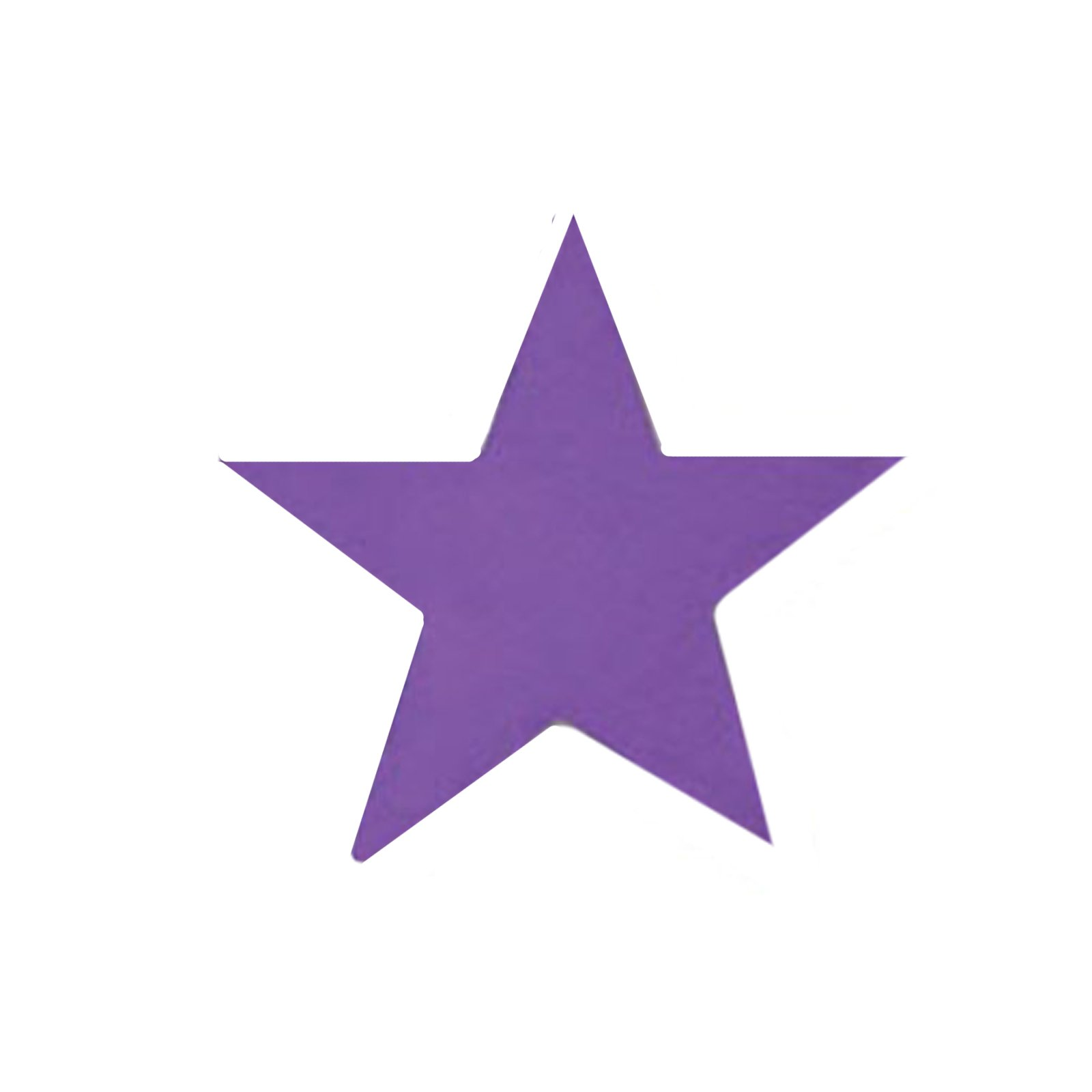"5"" Purple Foil Star (1 count)"