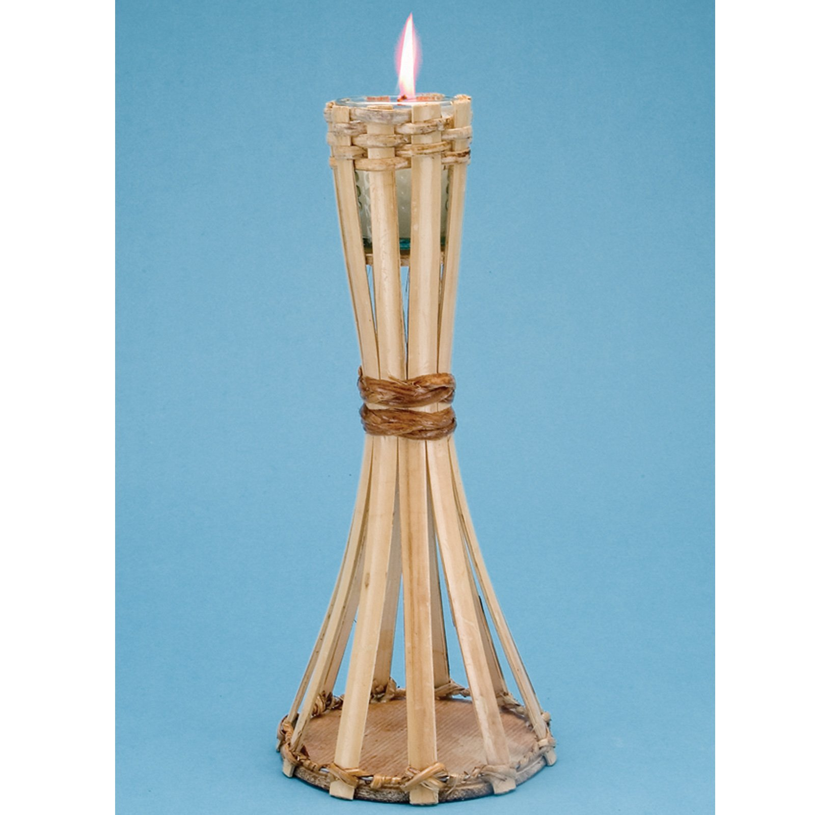 Natural Bamboo Table Torch