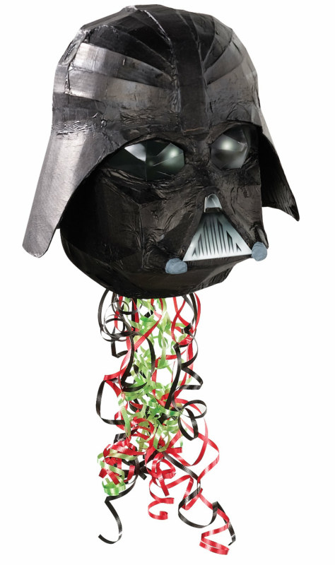 Star Wars 3D Helmet Shaped Pull String Pinata