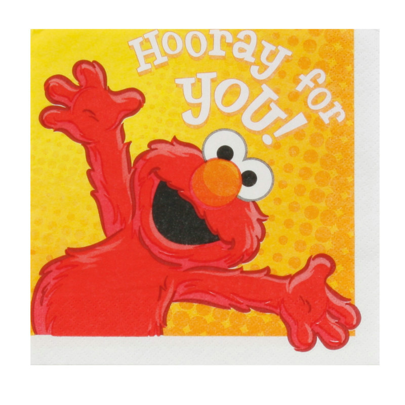 Hooray For Elmo Lunch Napkins (16 count)