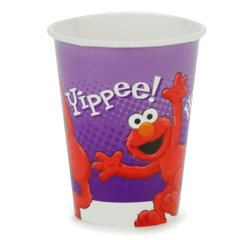 Hooray For Elmo 9 oz. Cups (8 count)