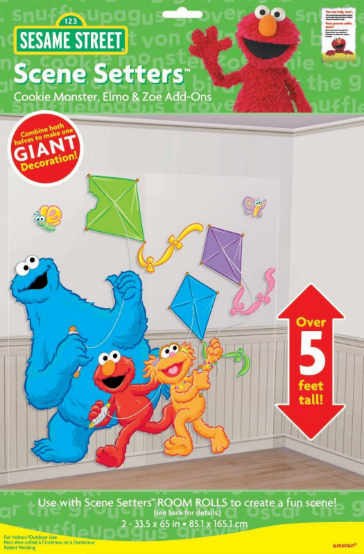 5' Sesame Street Cookie Monster Add-On