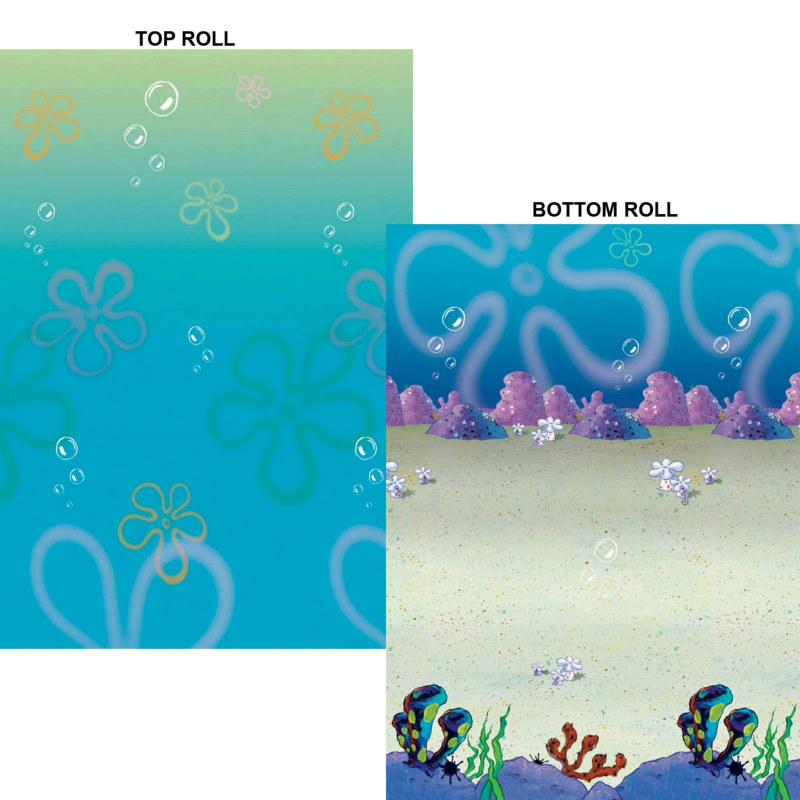 SpongeBob Bikini Bottom Room Rolls (2 count)