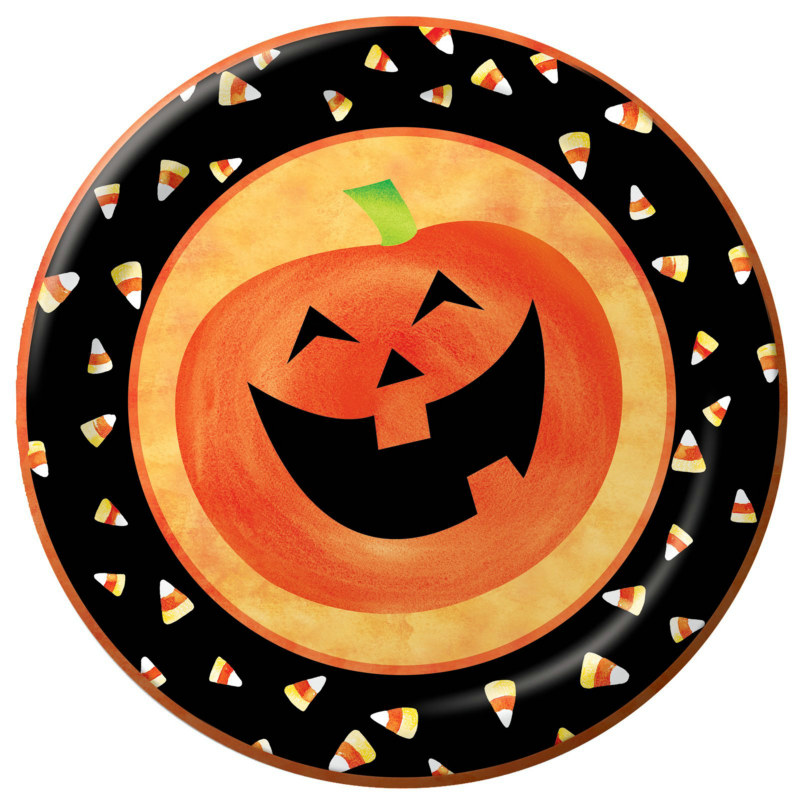 Halloween Party Dessert Plates (25 count)