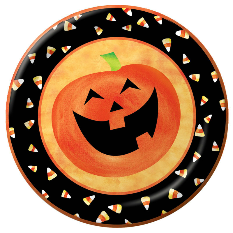 Halloween Party Dinner Plates (25 count)