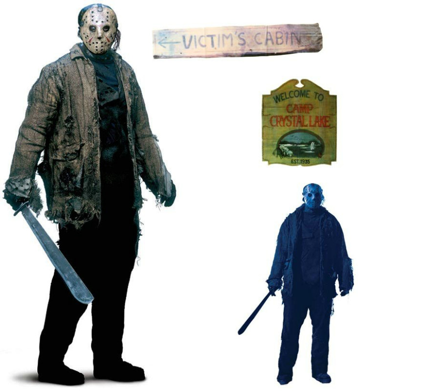 5' Friday The 13th Jason Add-Ons