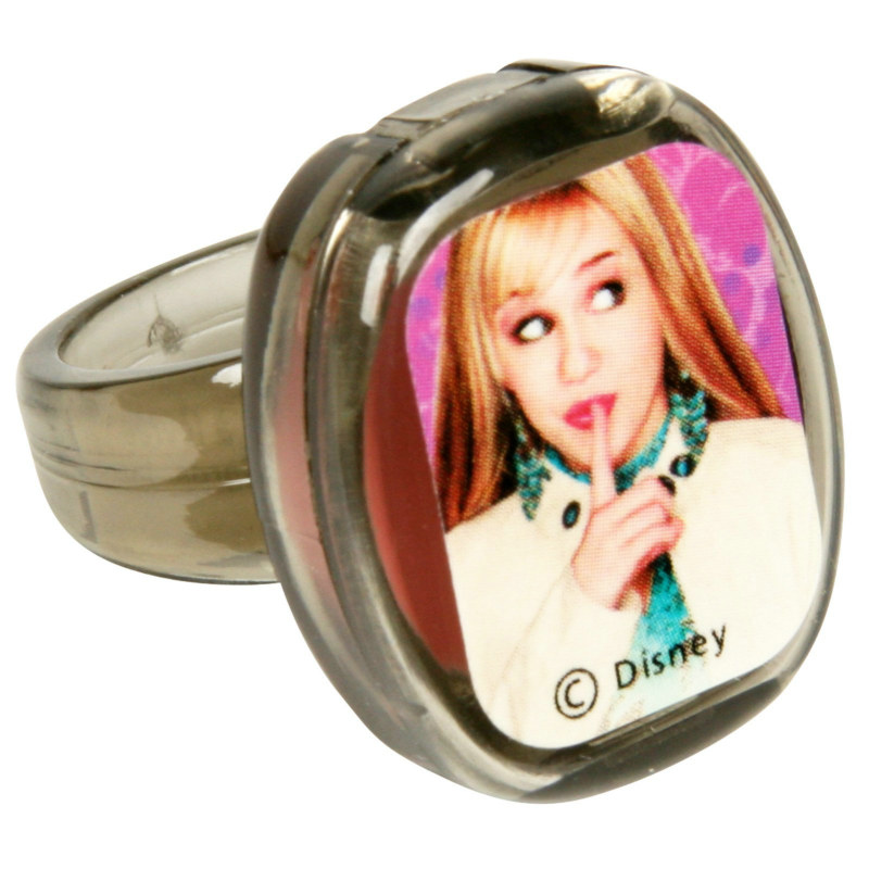 Hannah Montana Lip Gloss Rings ( 4 count)