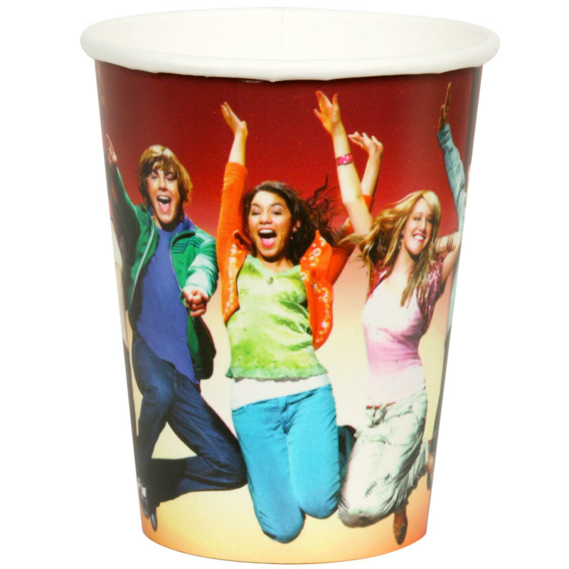 High School Musical 9 oz. Paper Cups (8 count)